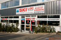 façade du magasin Ski Loc Shop